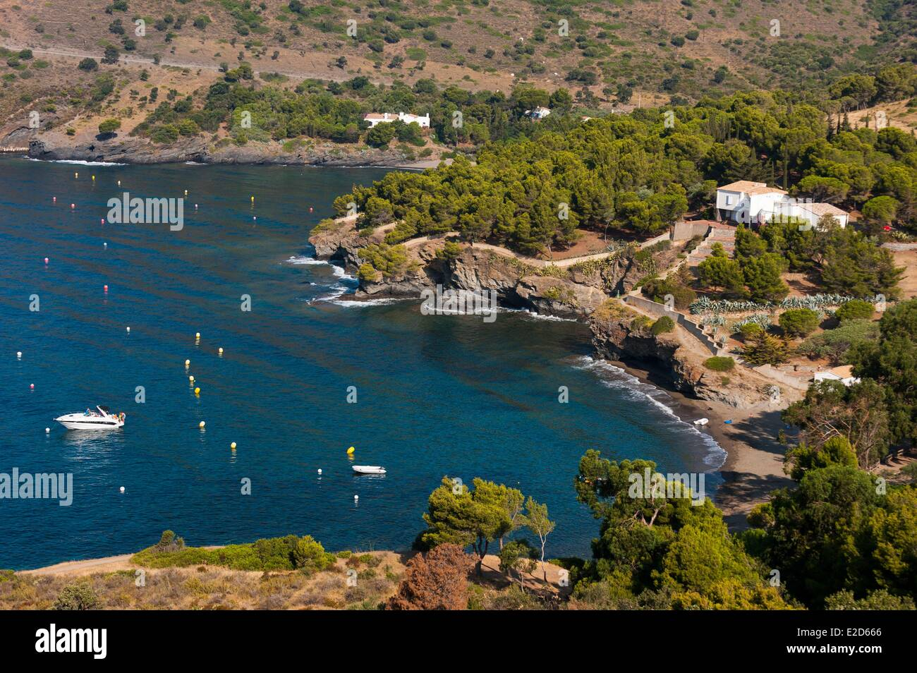 Spain catalonia costa brava natural park of cabo de creus - Office de tourisme rosas costa brava ...