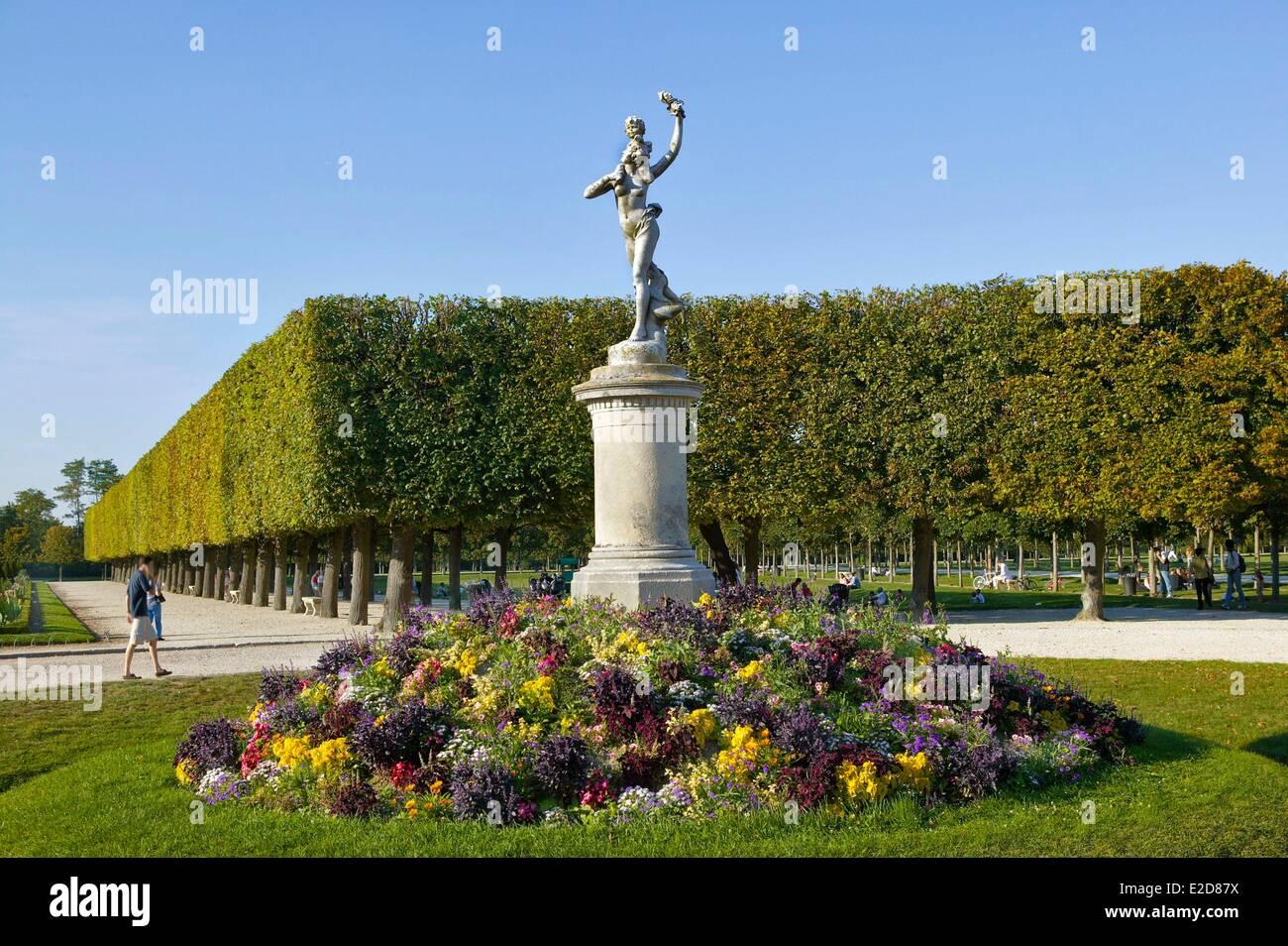 france yvelines saint germain en laye castle park gardens designed by stock photo royalty free. Black Bedroom Furniture Sets. Home Design Ideas