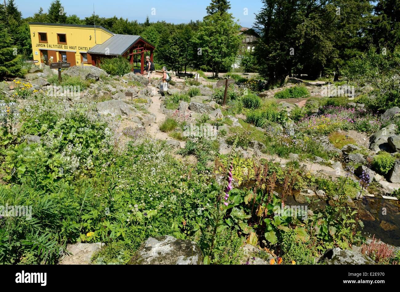 France vosges hautes vosges xonrupt longemer haut chitelet for Jardin remarquable