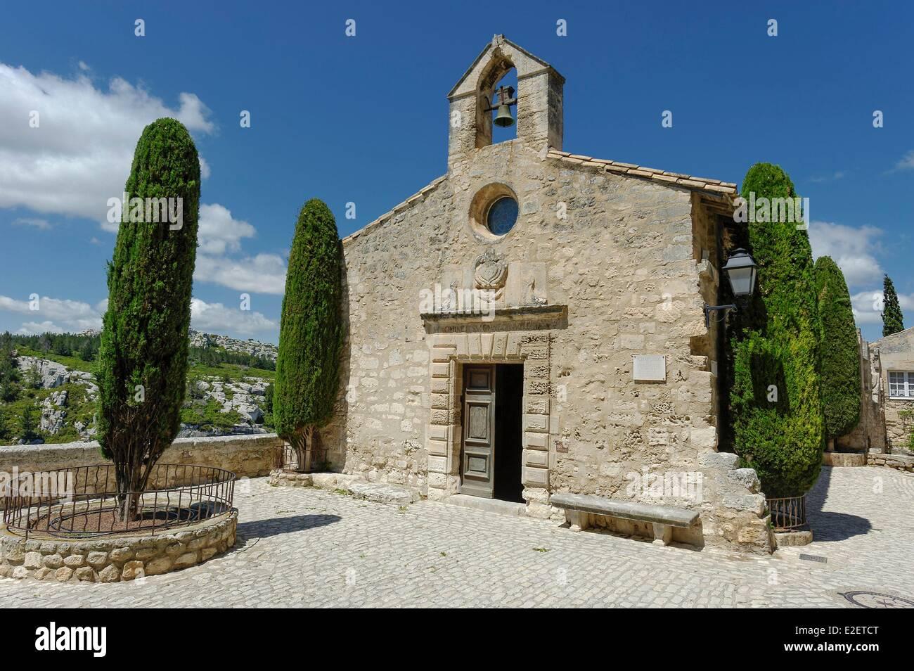 France bouches du rhone les baux de provence chapel of the for Les bouche du rhone