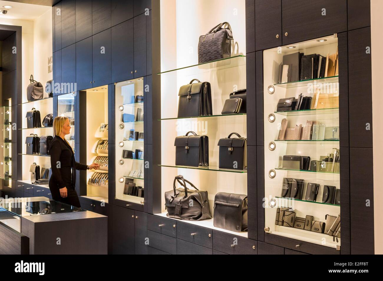 germany hamburg local shop montblanc brand founded in. Black Bedroom Furniture Sets. Home Design Ideas