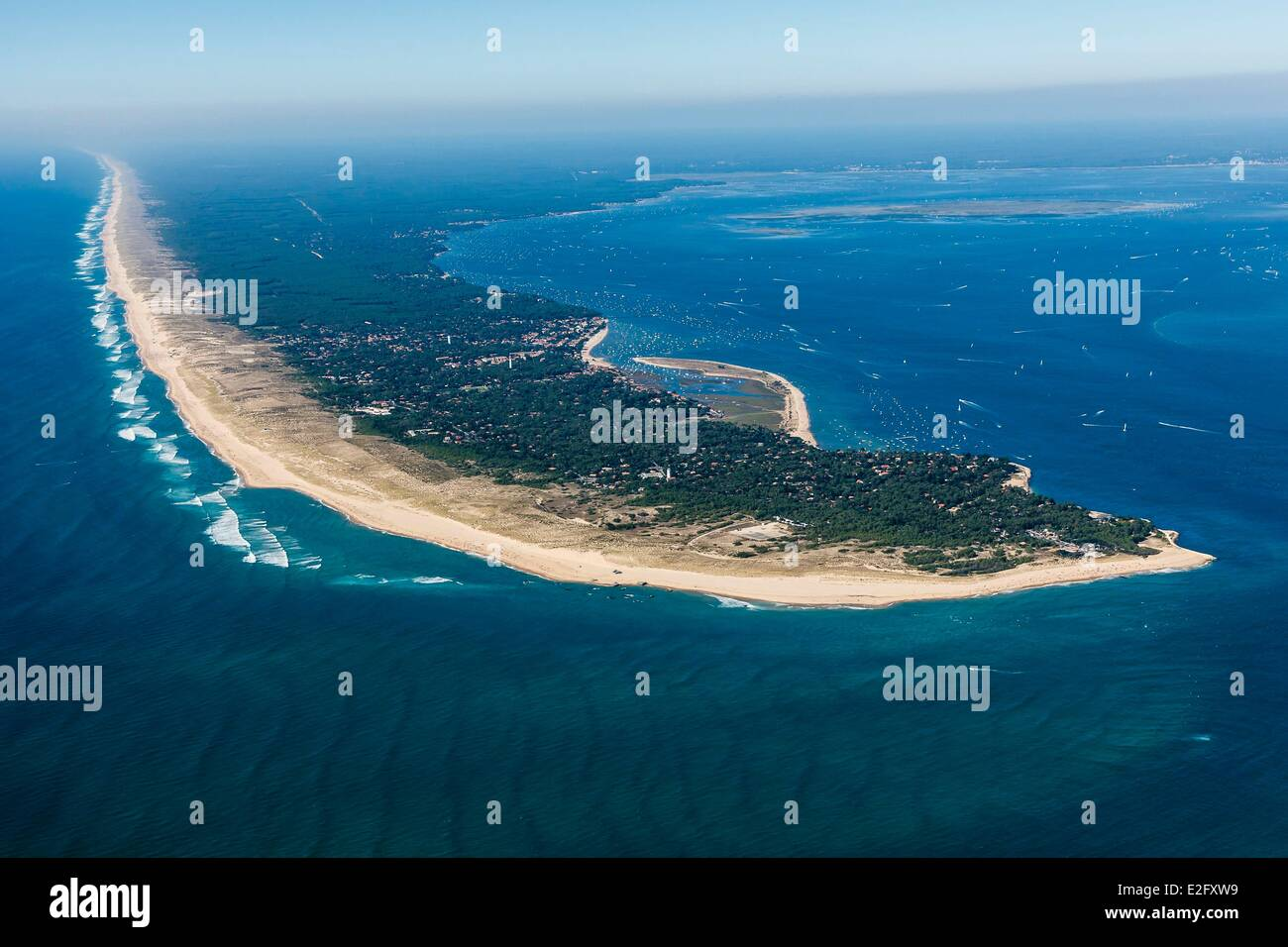 France Gironde Arcachon Bay Le Canon Stock Photo | Getty Images