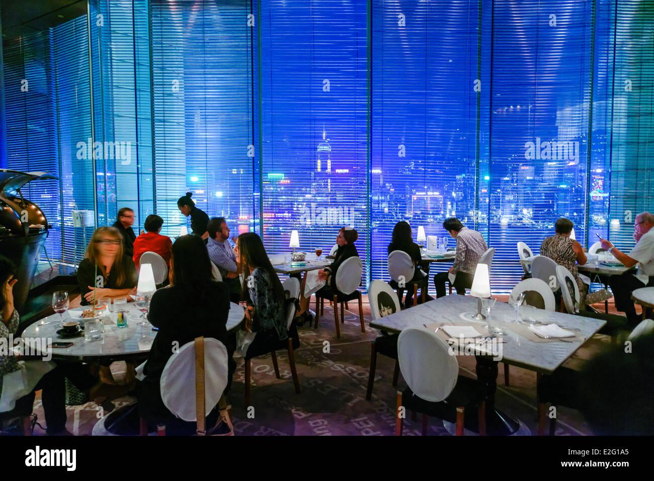 China Hong Kong Kowloon District The Peninsula Hotel Panoramic Felix Stock Ph