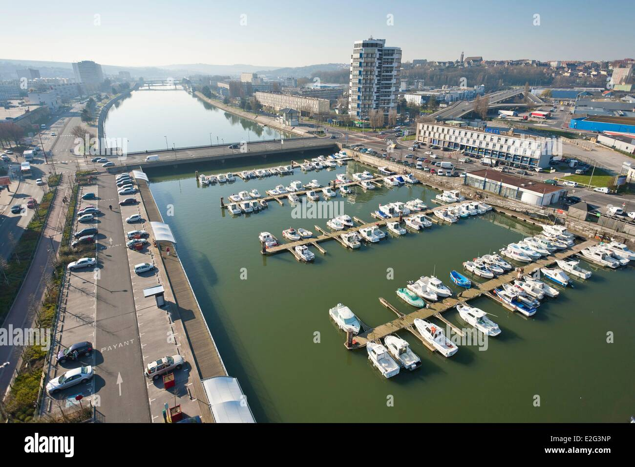 france pas de calais boulogne sur mer the liane river and f stock photo 70424978 alamy. Black Bedroom Furniture Sets. Home Design Ideas