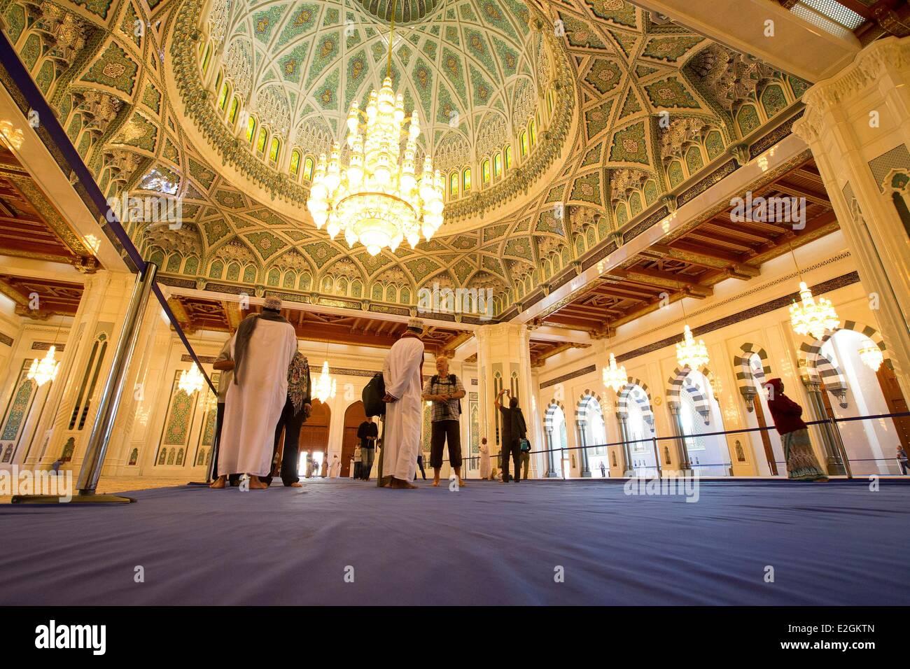 Grand Mosque In Mu Sultan Qaboos Chandelier