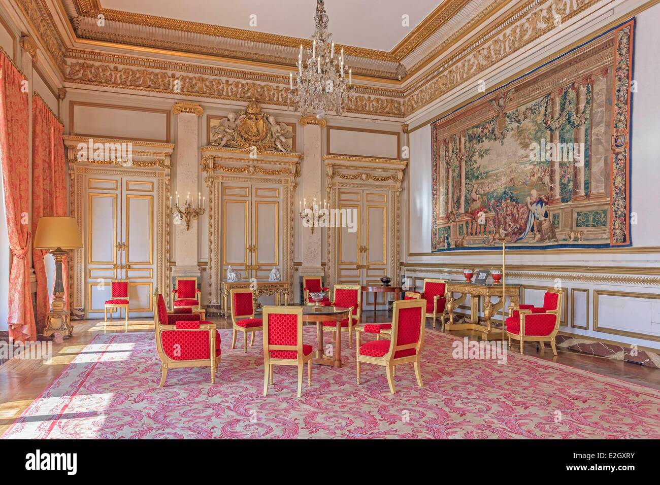 France paris palais royal constitutional council grand salon great stock photo royalty free - Salon france amerique paris 8 ...