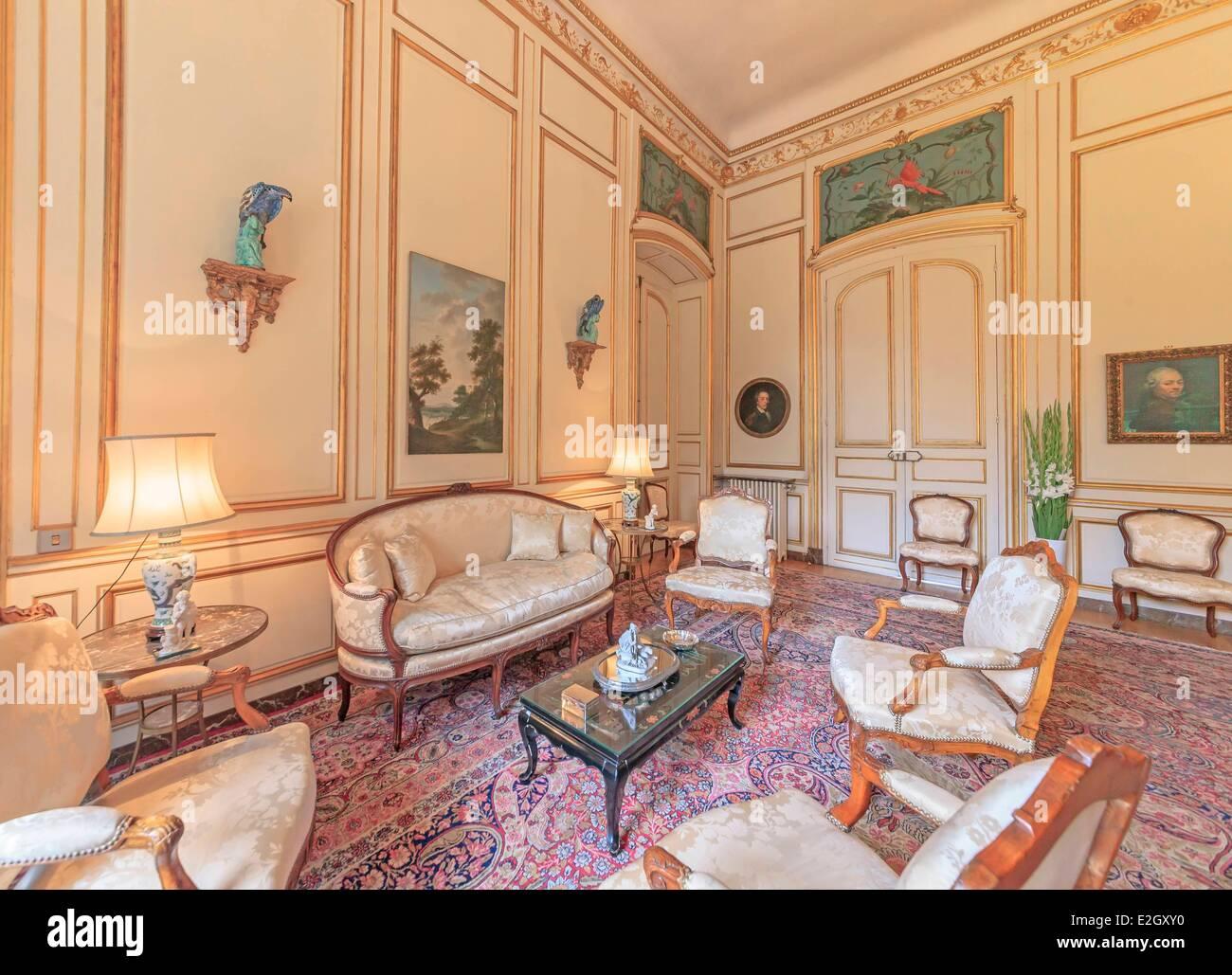 Souvent France Paris Rue de Grenelle Hotel de Besenval 18th century  GT13