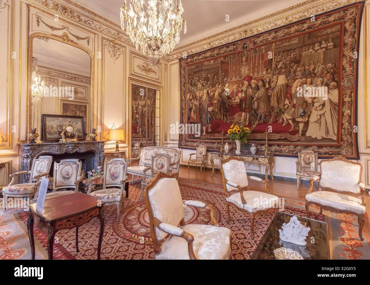 Populaire France Paris Rue de Grenelle Hotel de Besenval 18th century  HQ41