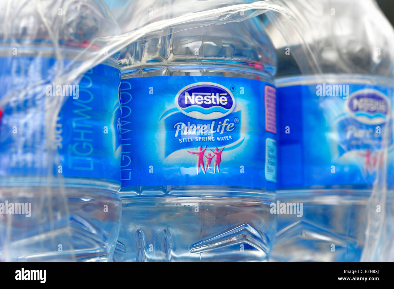 Pure water label stock photos pure water label stock images alamy a case of nestle pure life spring water shrink wrapped stock image biocorpaavc