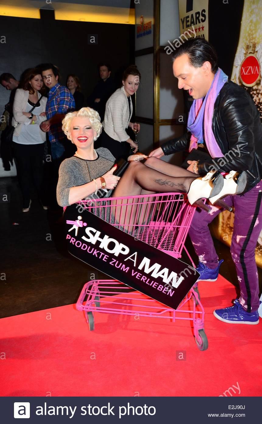 Melanie Mueller (Bachelor), Julian Stoeckel At ShopAMan Valentineu0027s Day ( Valentinstag) Party At Felix Club. Where: Berlin, Germany When: 14 Feb 2013