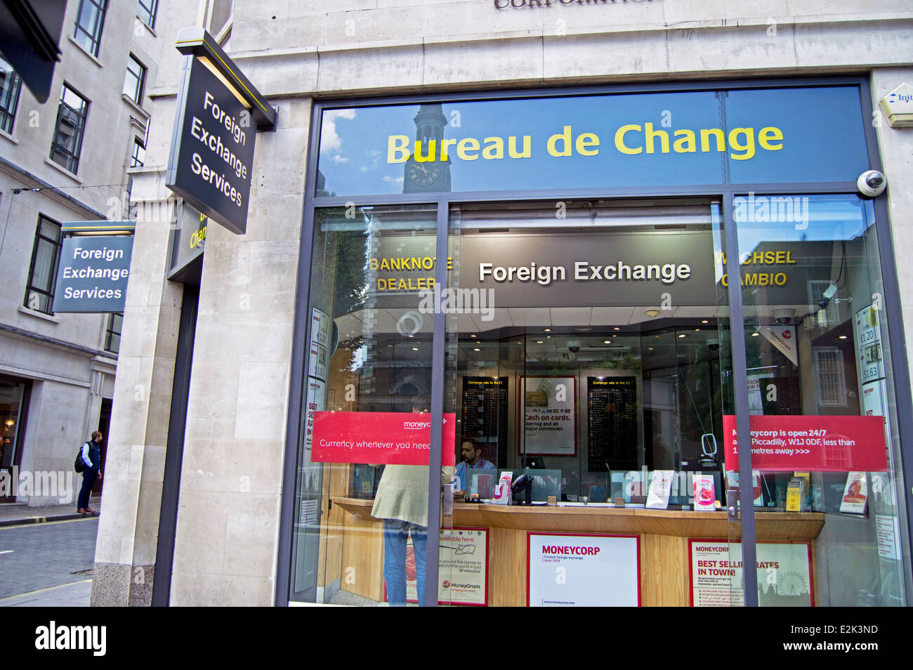 Bureau de change piccadilly city of westminster london for Bureau change
