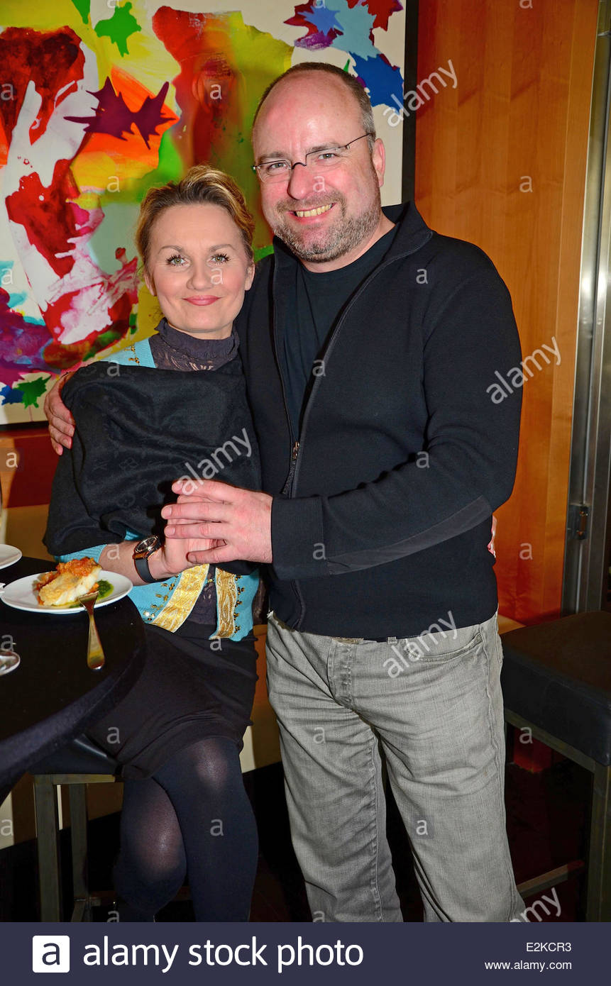 Kitchen Party Christian Lohse And His Girlfriend Jowita Keles At Kitchen Party