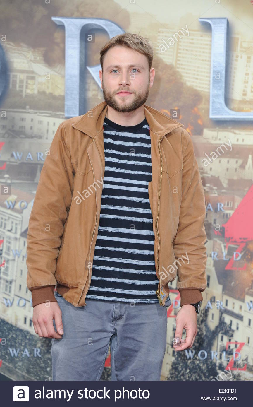 Picture of max riemelt - Max Riemelt At The World War Z Premiere At Cinestar Movie Theater At Potsdamer Platz Square