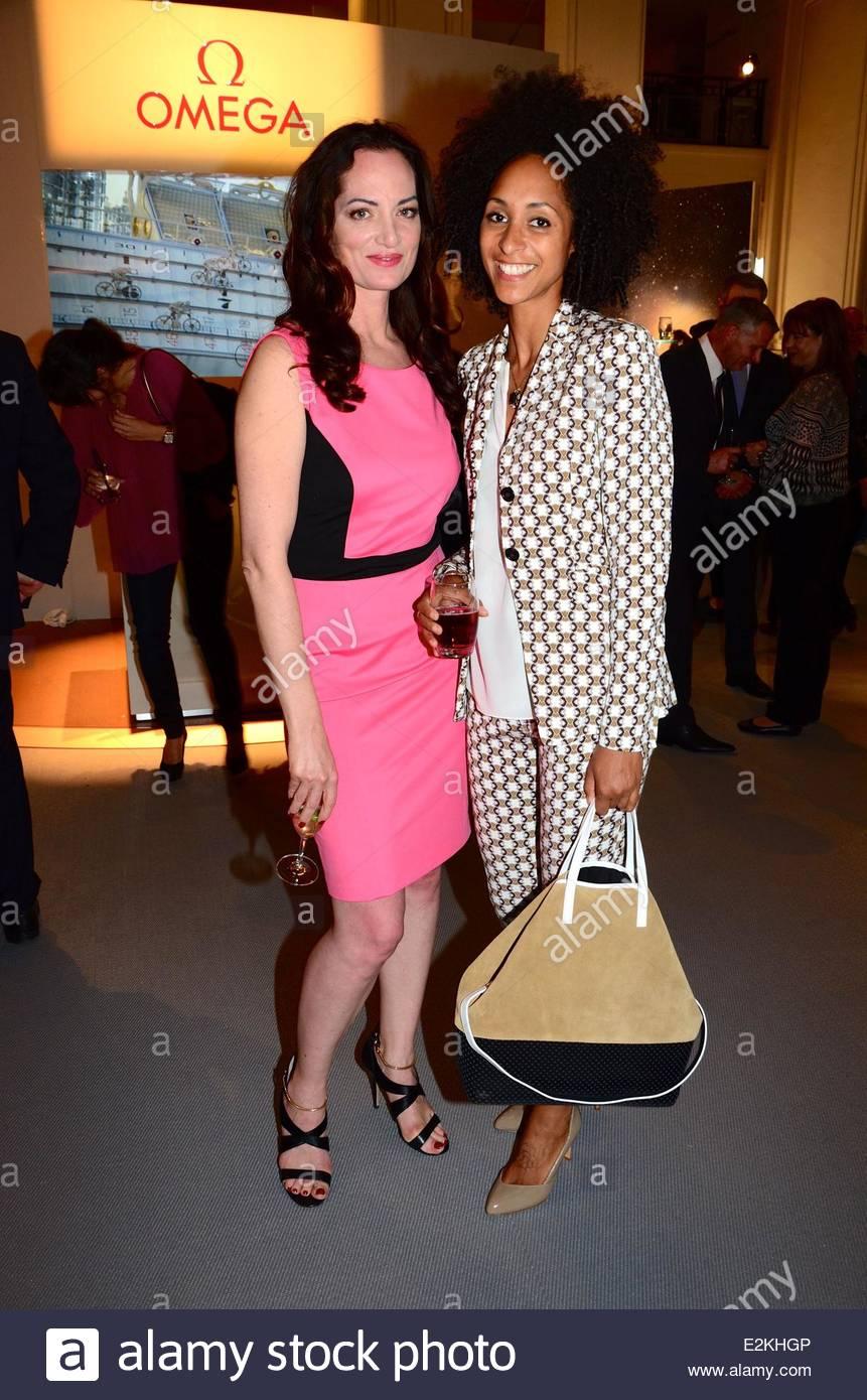 Natalia Woerner and Kady Taylor at Omega Co-Axial party at KaDeWe ...