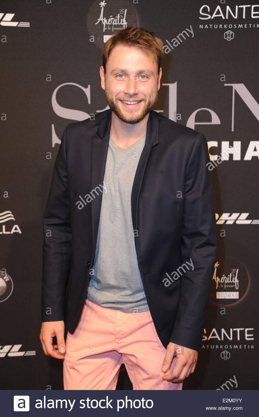 Picture of max riemelt - Max Riemelt At Mercedes Benz Fashion Week Berlin Spring Summer 2014 Michalsky
