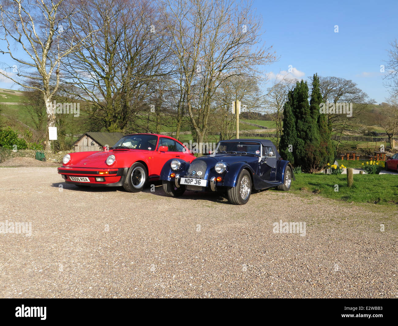 Porsche Morgan Roadster Classic Cars In The Yorkshire