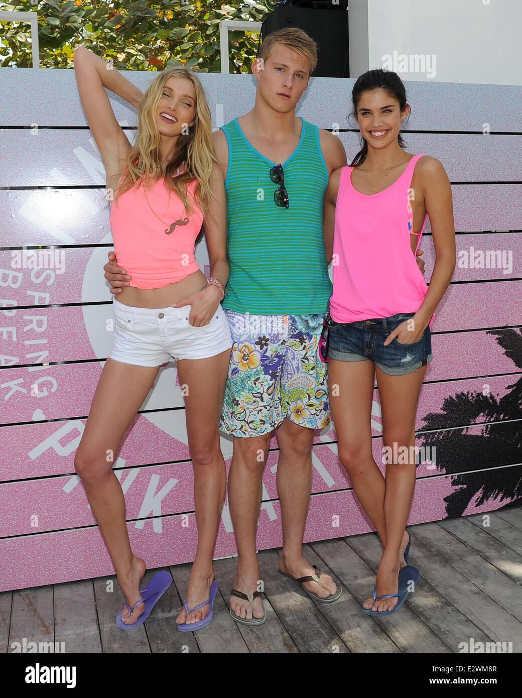 Victorias Secret PINK Brings The Ultimate Spring Break Dance Party To Miami At Raleigh Hotel Featuring Elsa HoskAlexander LudwigSara Sampaio Where