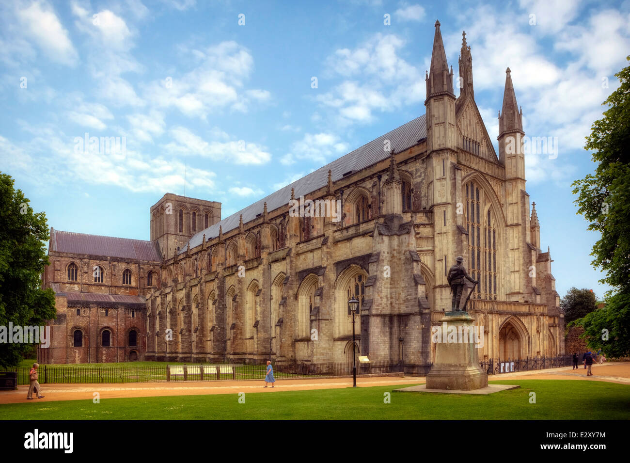 Winchester Cathedral Winchester Hampshire England