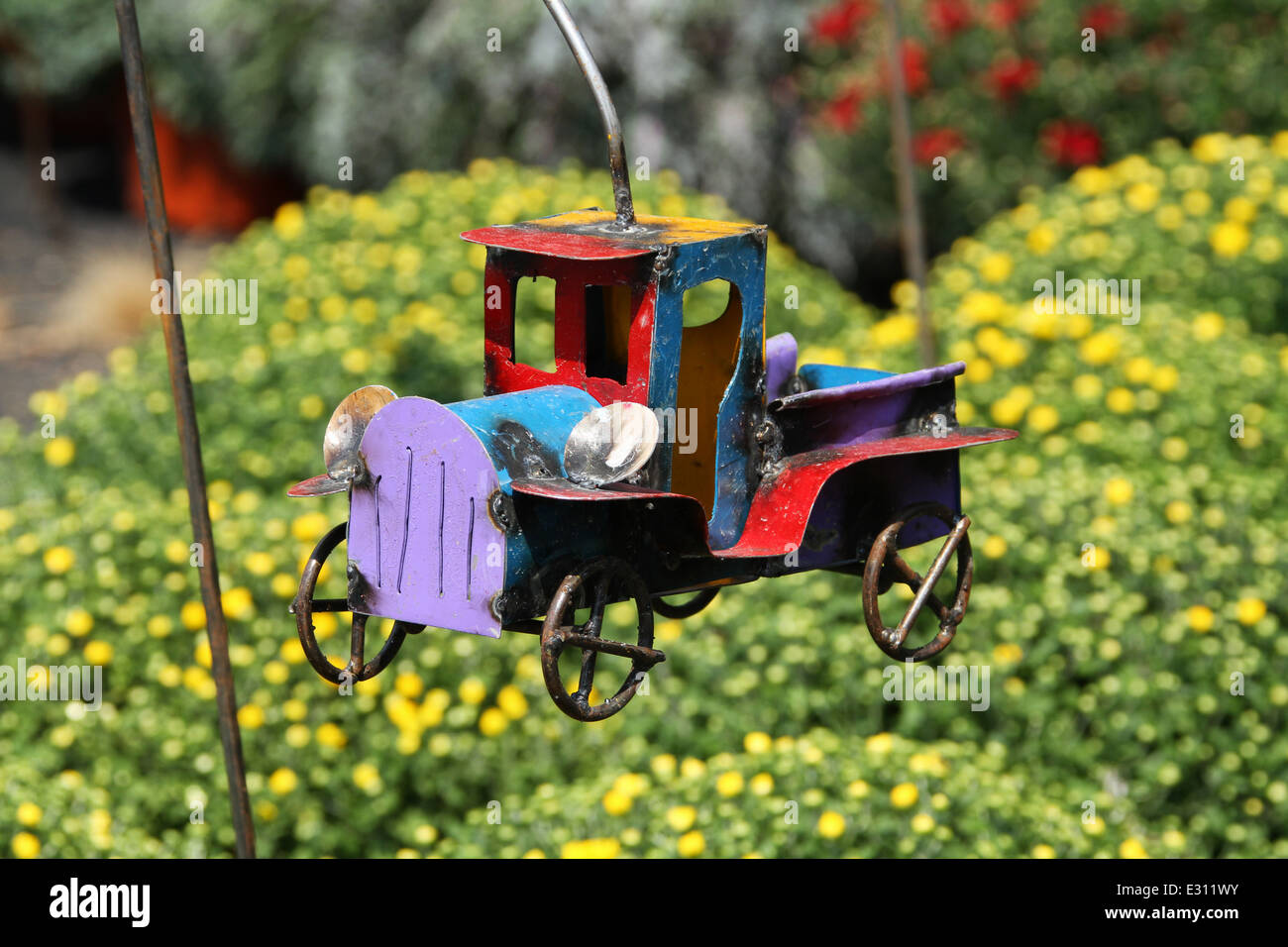 Decorative Flower Garden Truck. Garden Art. Beavercreek Popcorn ...