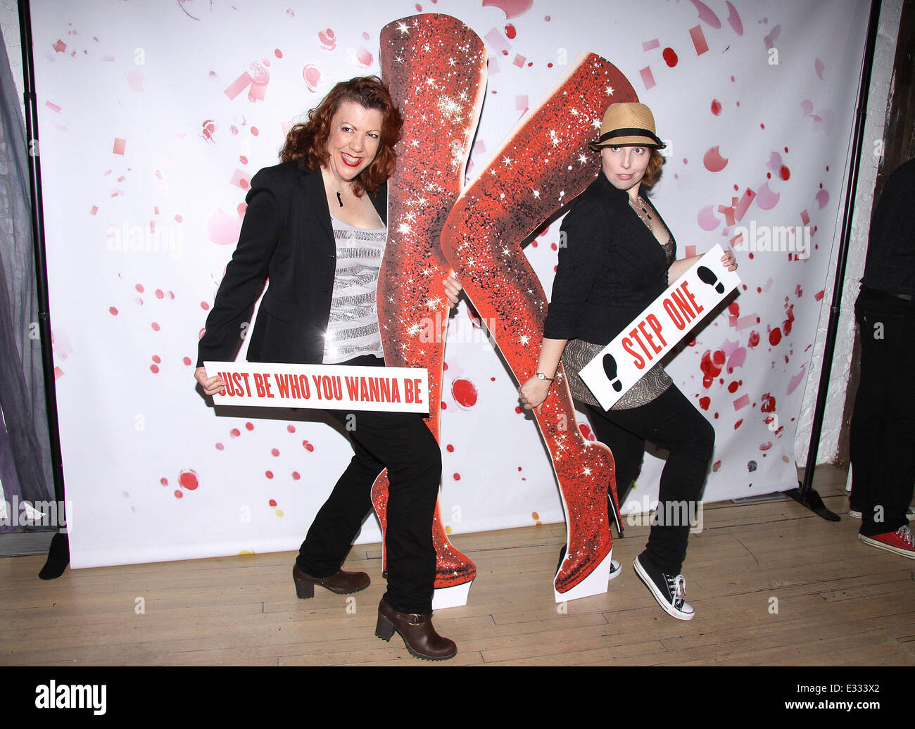 The Kitchen Cast kinky boots' original cast recording cd launch party held at abc