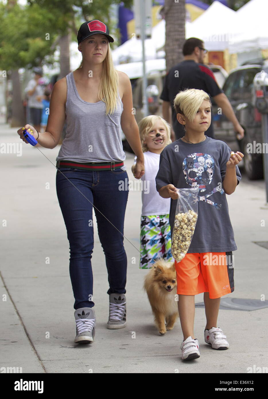 gwen stefanis sons kingston rossdale and zuma rossdale