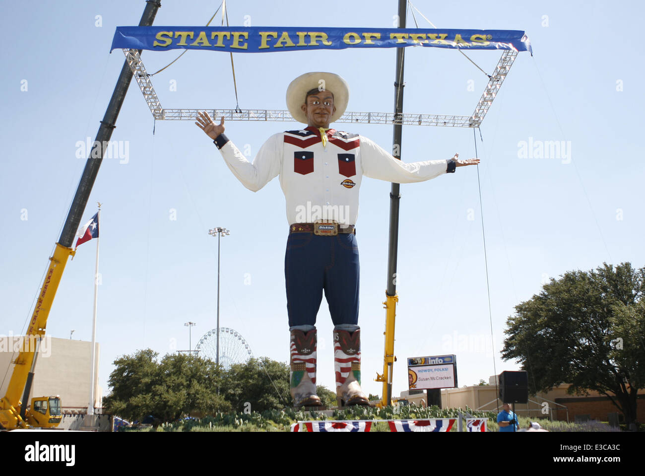 Big tex returns to the state fair of texas big tex caught fire at big tex returns to the state fair of texas big tex caught fire at the previous fair due to an electrical fault and burnt to the ground featuring big tex publicscrutiny Image collections