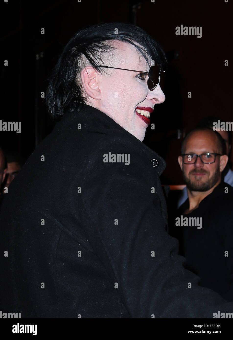 Marilyn Manson Hosts Halloween Horror Bash at Hyde Bellagio in Las ...
