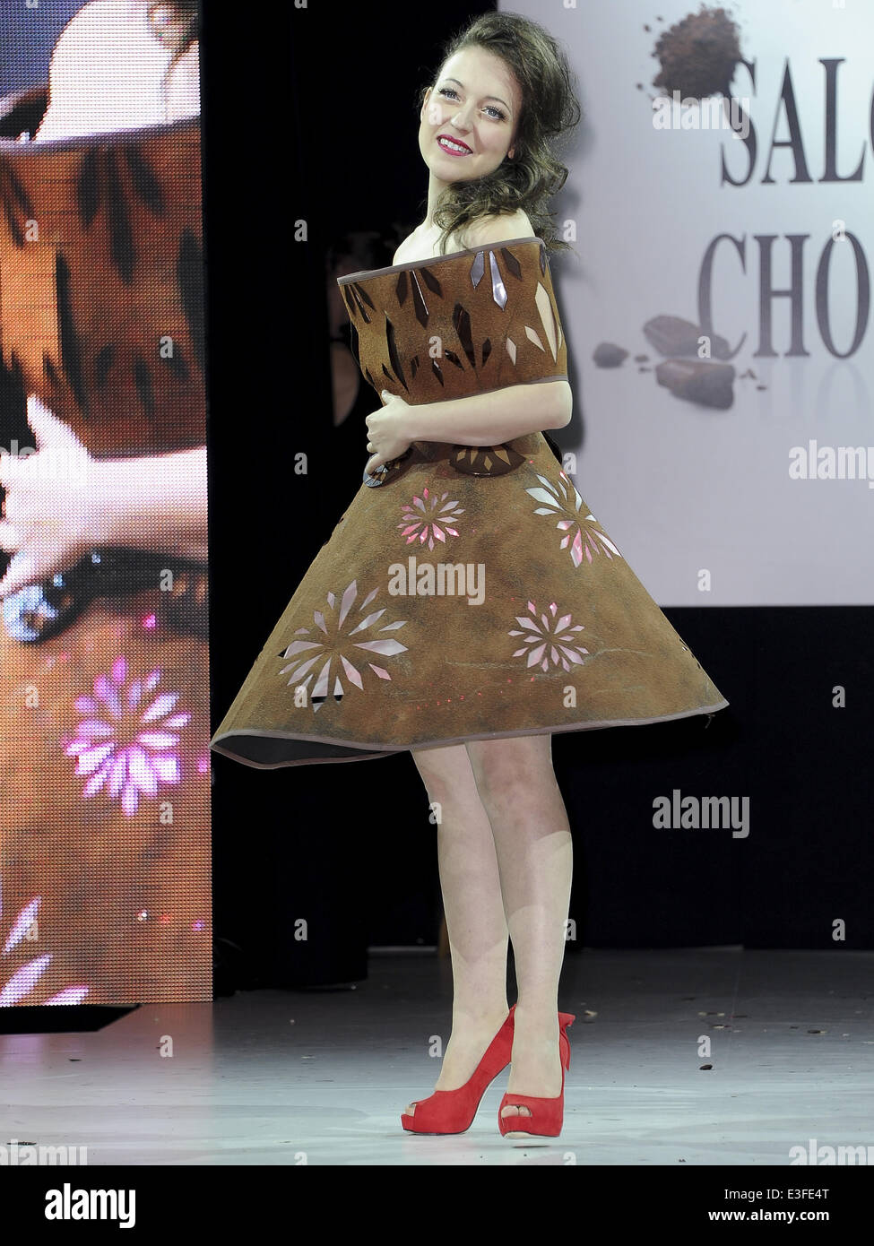 2013 Chocolate Fashion Show held at Le Salon du Chocolat Featuring ...