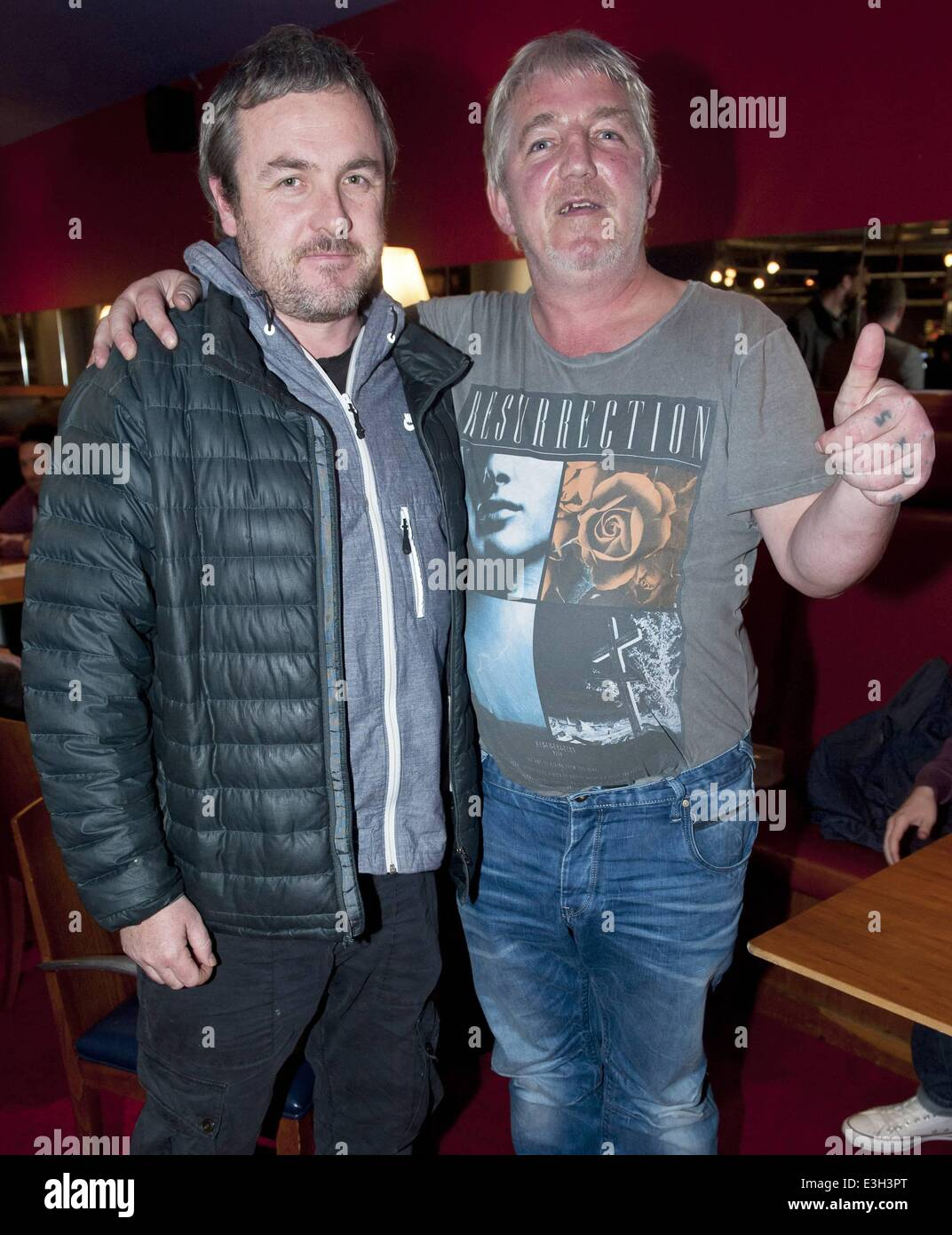 guests attend a private screening of jeff doyle s dark comedy jack ralph plan a murder at cineworld many of the love hate cast in attendance featuring stuart carolan stephen clinch where dublin