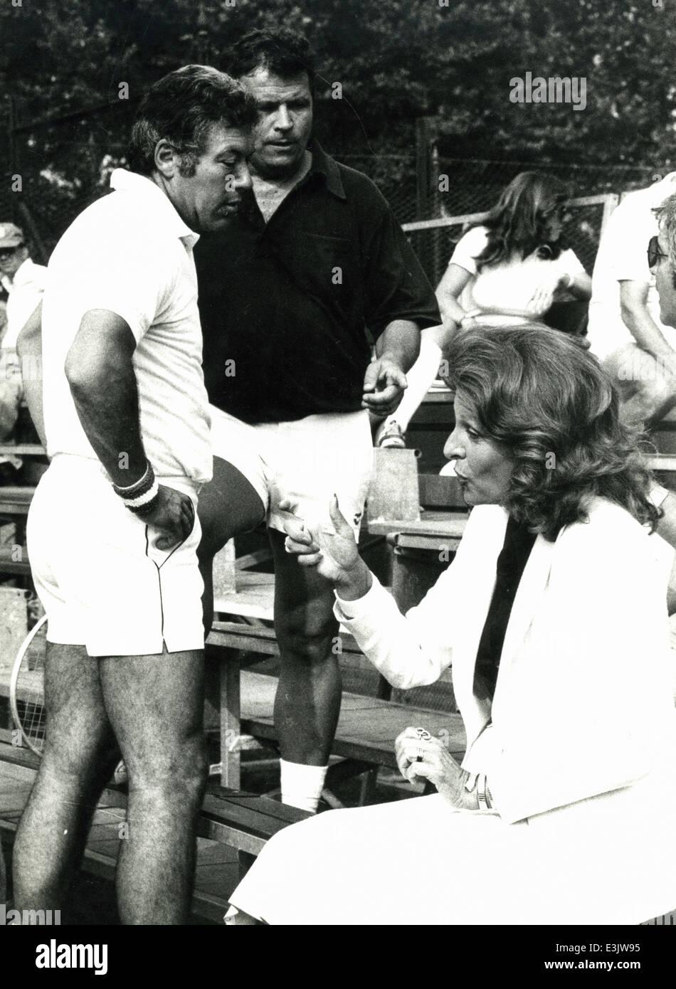 nicola pietrangeli 1978 Stock Royalty Free Image