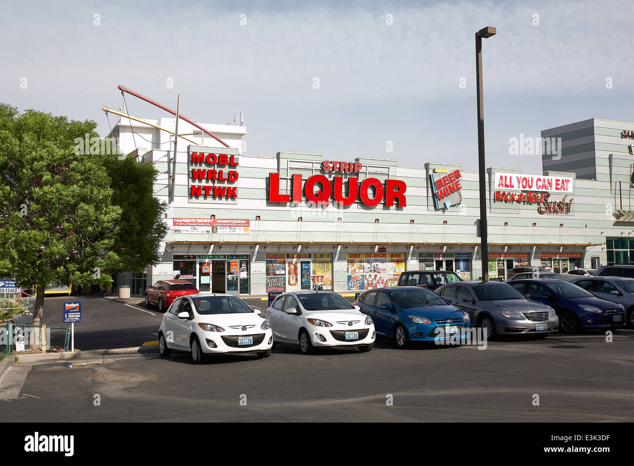 Liquor store on vegas strip