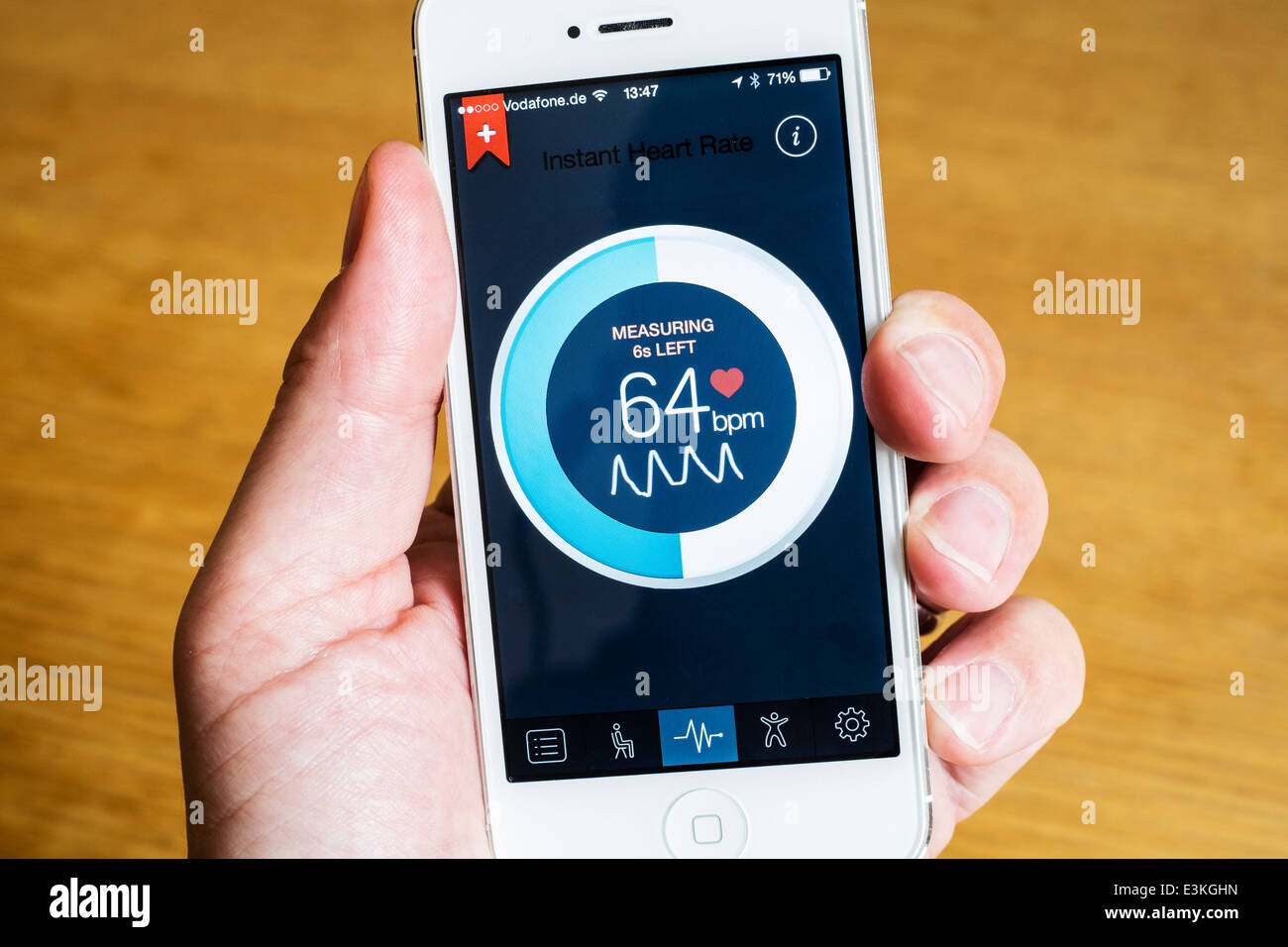 New Mobile Heart Rate Monitoring App Detects Pulse Via ...