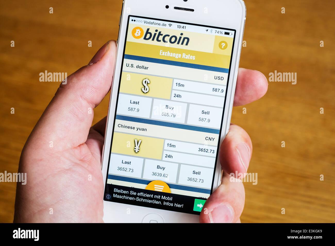 Bitcoin stocks iphone