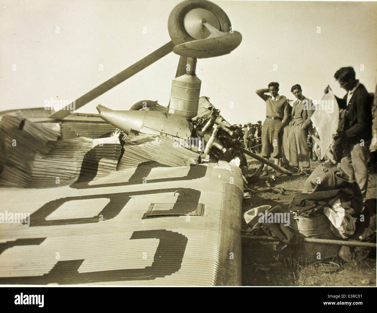 Aircraft accident maddux ford trimotor stock photo for Ford tri motor crash