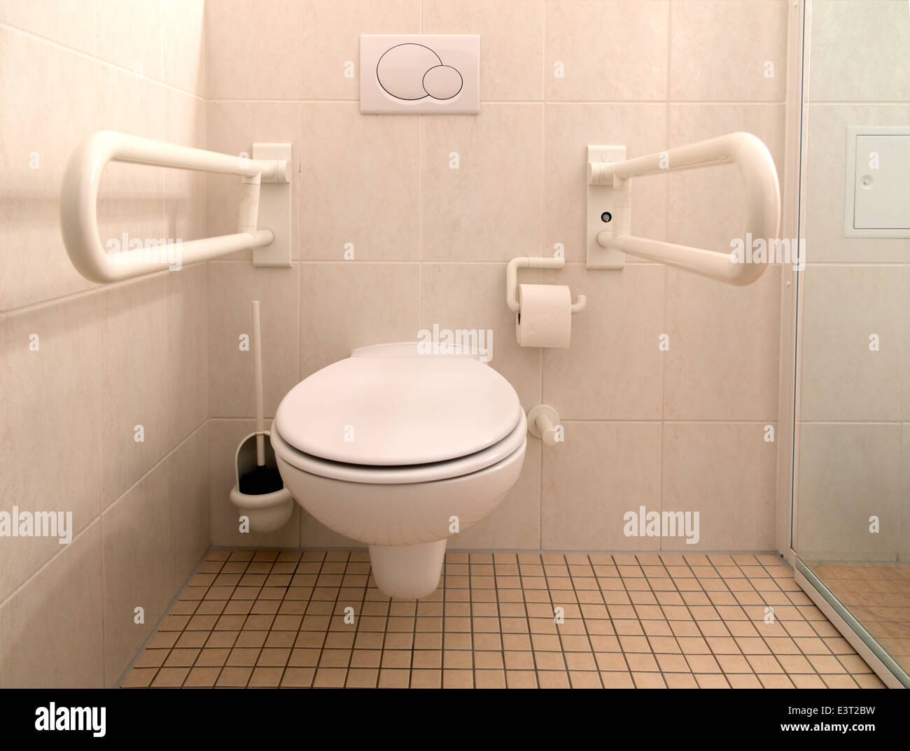 Toilet for disabled people stock photo royalty free image - Toilet for handicapped person ...