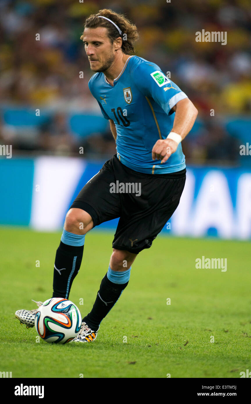 Diego Forlan URU JUNE 28 2014 Football Soccer FIFA World