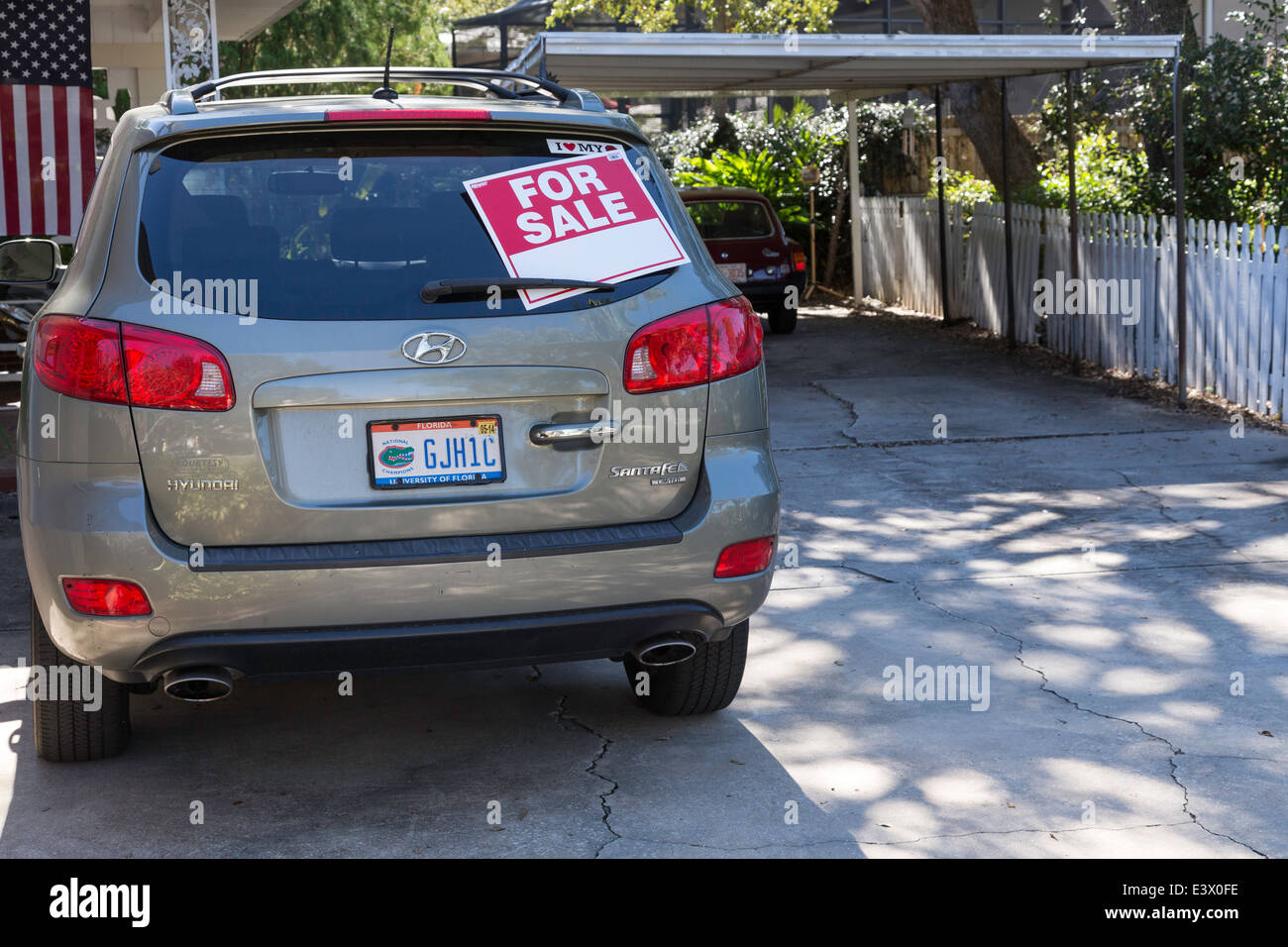 Used Car For Sale by Owner, USA Stock Photo, Royalty Free Image ...