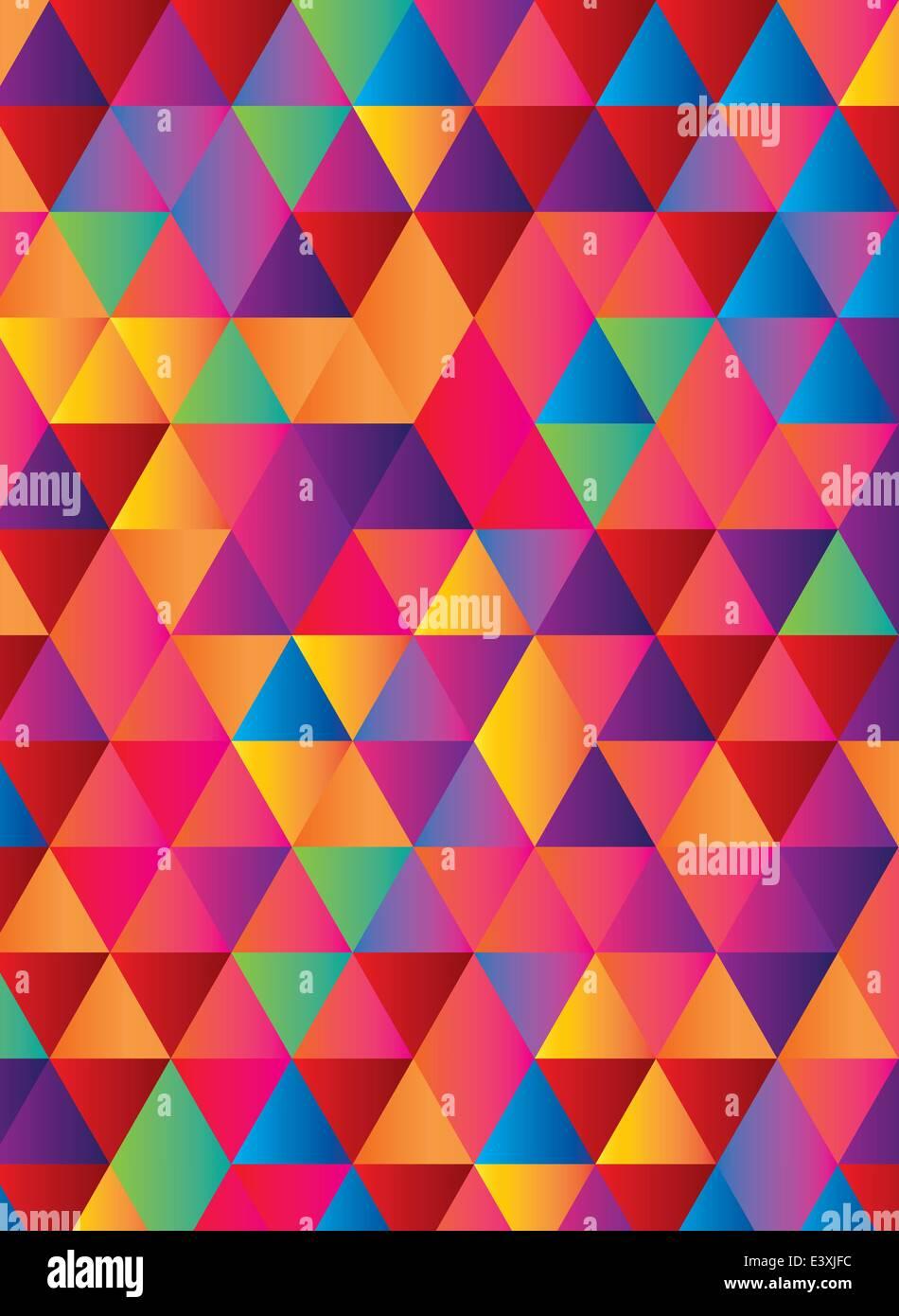 gradient background in geometric repeat pattern Stock Vector Art