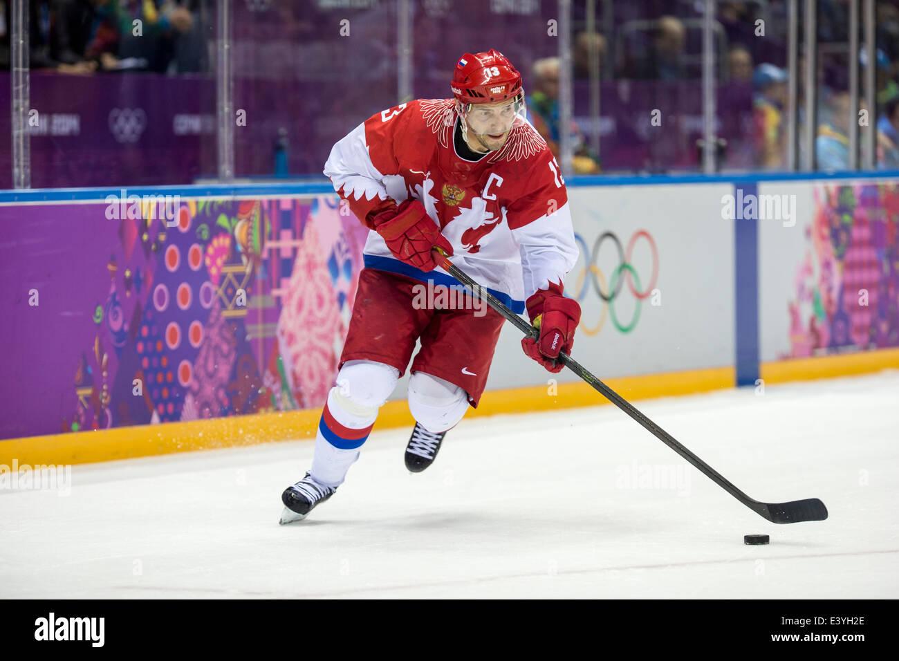 Pavel datsyuk rus during ice hockey game vs usa at the olympic pavel datsyuk rus during ice hockey game vs usa at the olympic winter games sochi 2014 voltagebd Choice Image