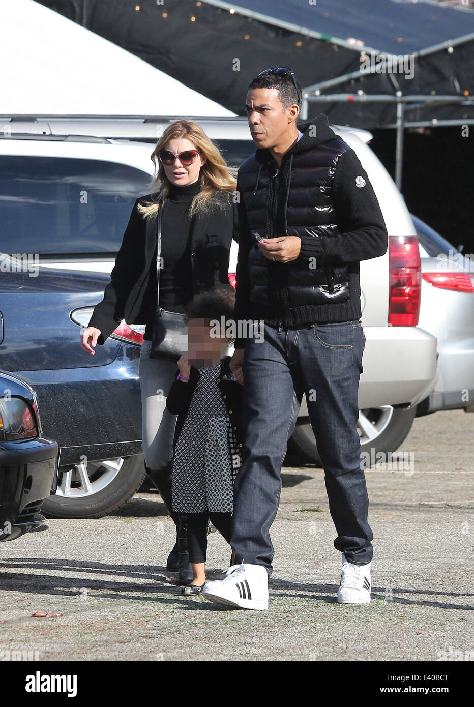 Ellen Pompeo Husband Ellen Pompeo And Husband Chris Ivery Take Daughter Stella Shopping