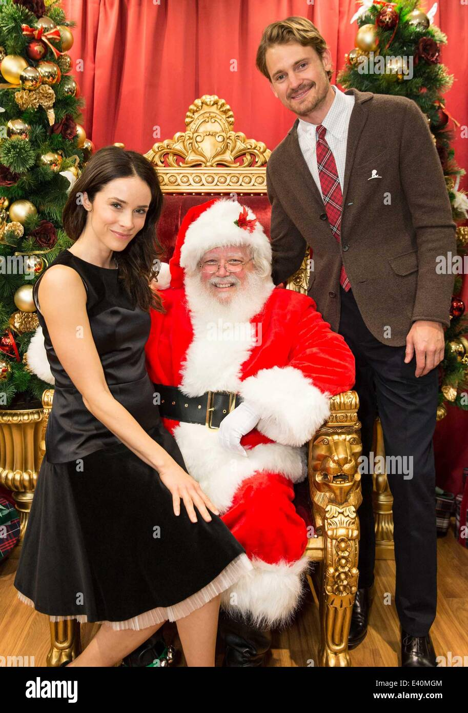 Brook Brothers' Holiday Celebration Benefiting St Jude Children's Research  Hospital Featuring: Abigail Spencer,santa Claus,josh Pence Where: San  Francisco,