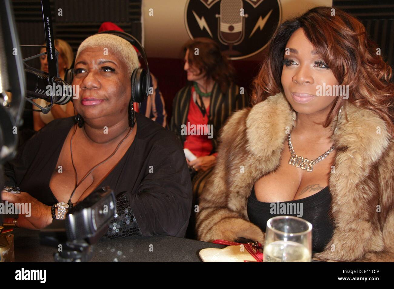 Comedian & Borat Star Luenell broadcasts her online Christmas ...