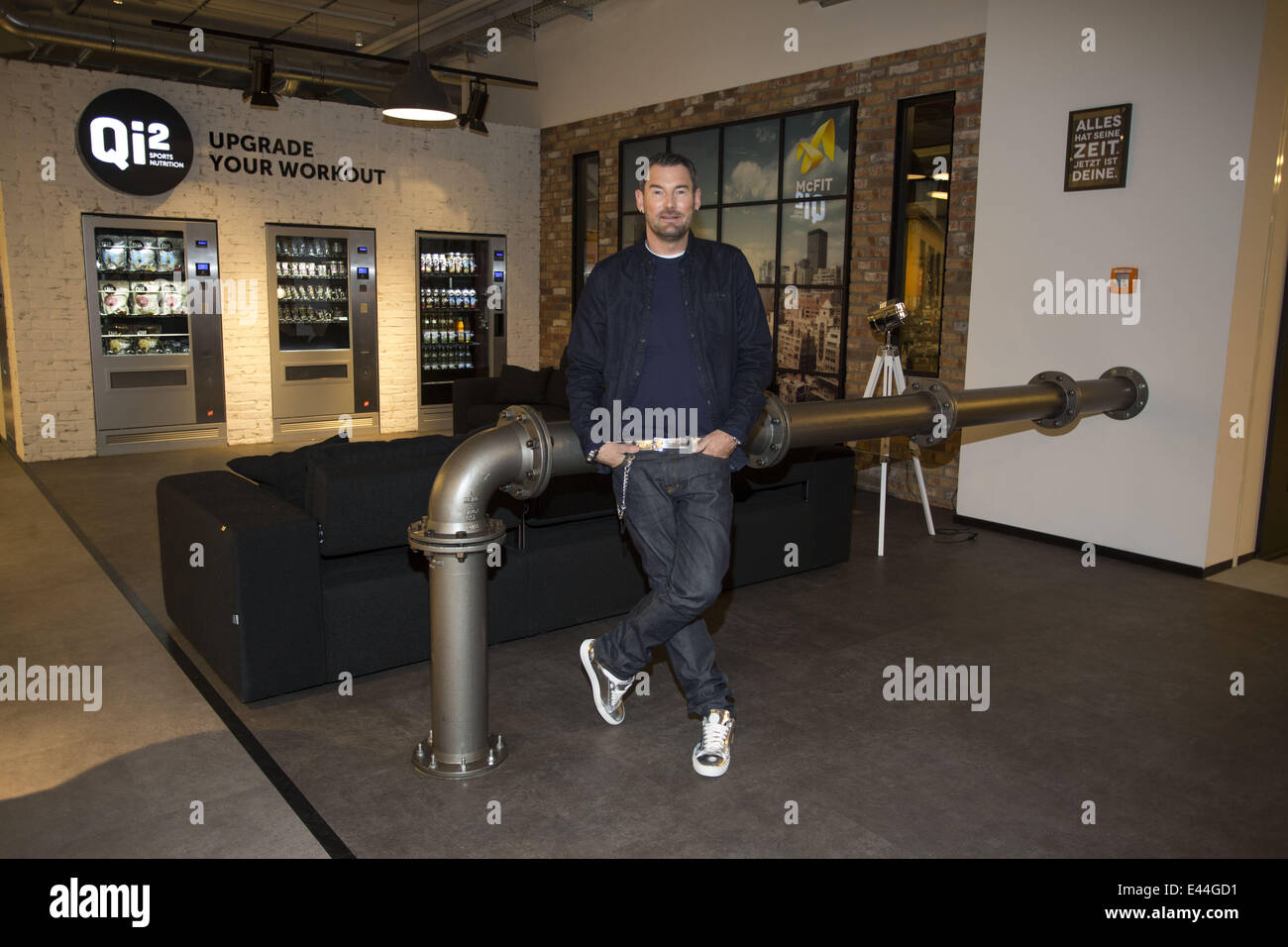 michael michalsky presenting his interior design for u0027mcfit home