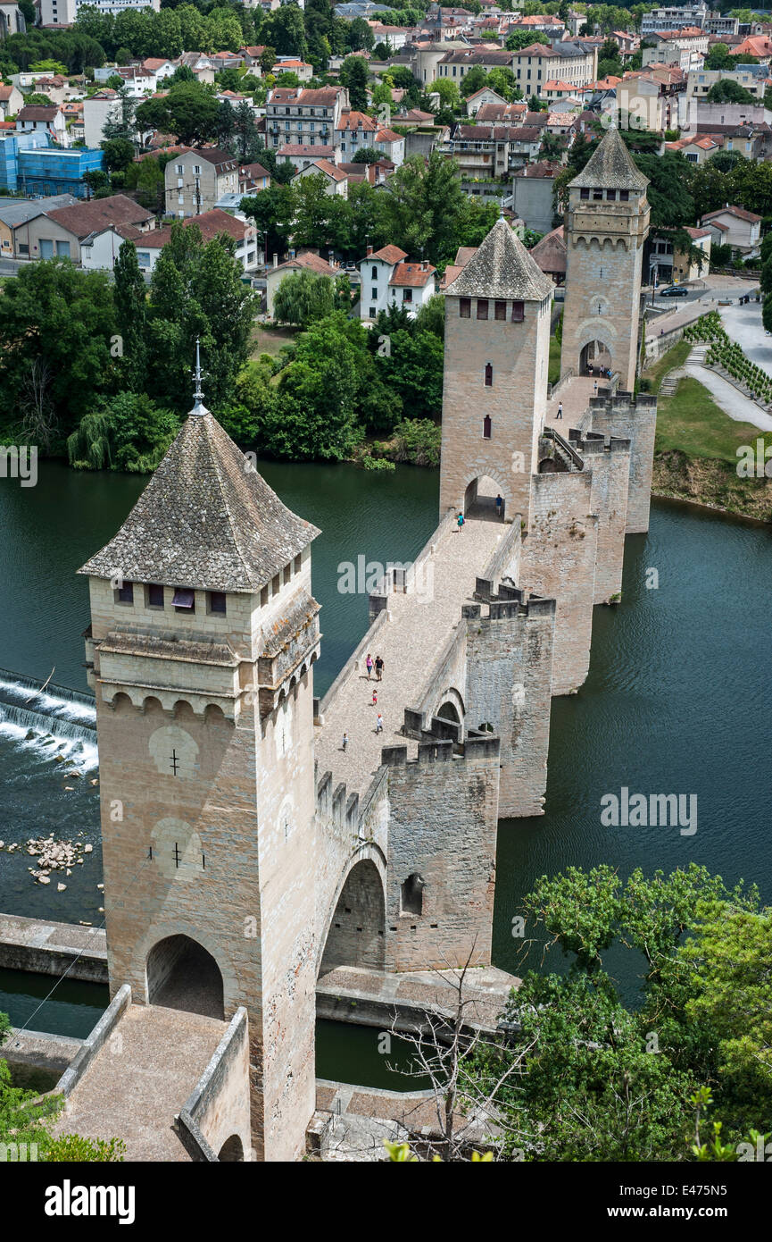 Le pont valentr pont du diable 14th century six span for Le miroir du diable