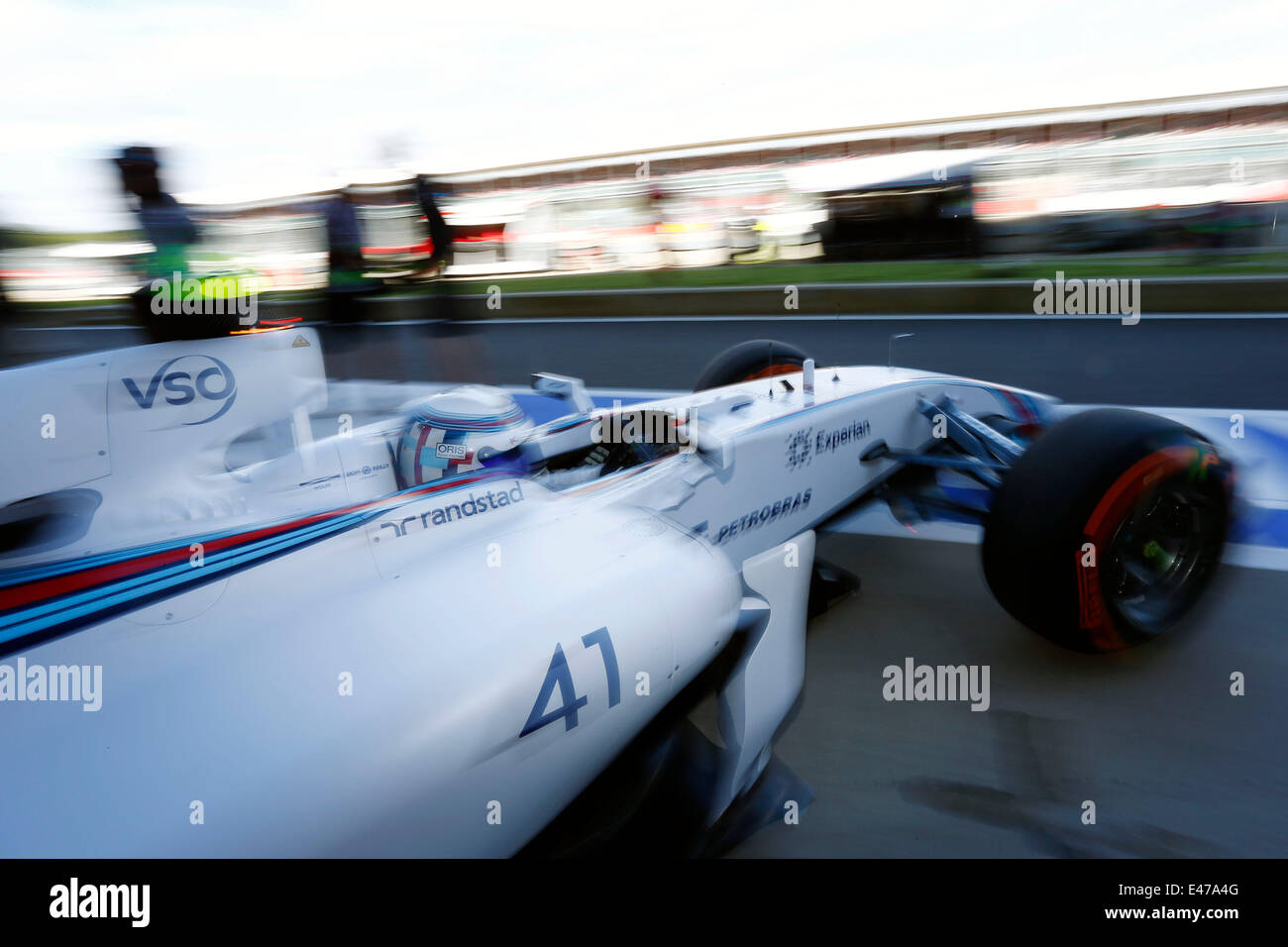 Silverstone, UK. 03rd July, 2014. Motorsports: FIA Formula One World ...