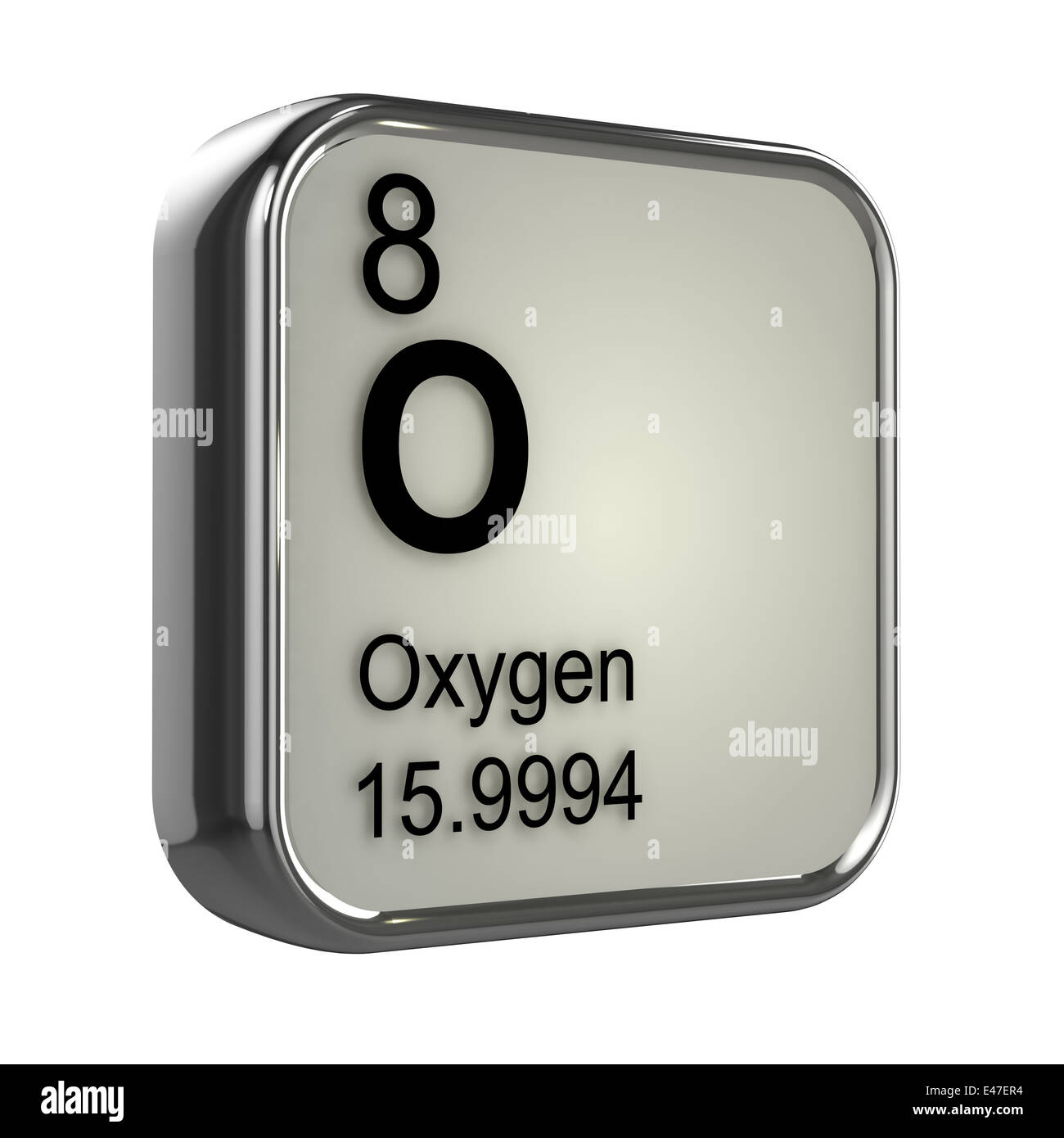 3d oxygen element from the periodic table stock photo royalty 3d oxygen element from the periodic table gamestrikefo Images