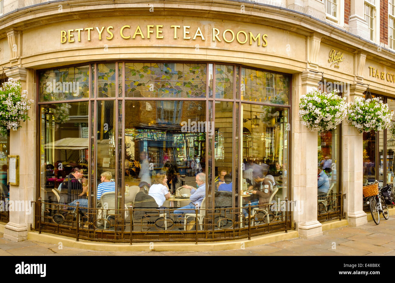 The Famous Betty S Tea Rooms York England 6 8 St Helen