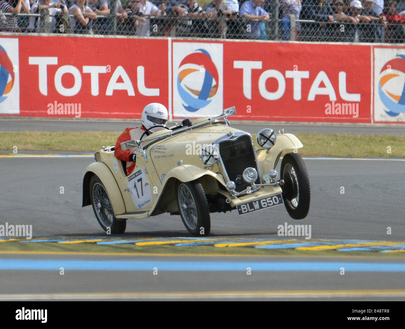 Le Mans France 5th June 2014 Historic Racing Cars On Track At