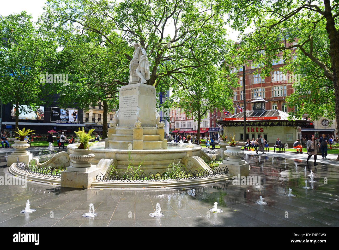 The Shakespeare Fountain, Gardens Square, Leicester Square, West End, City  Of Westminster, London, England, United Kingdom