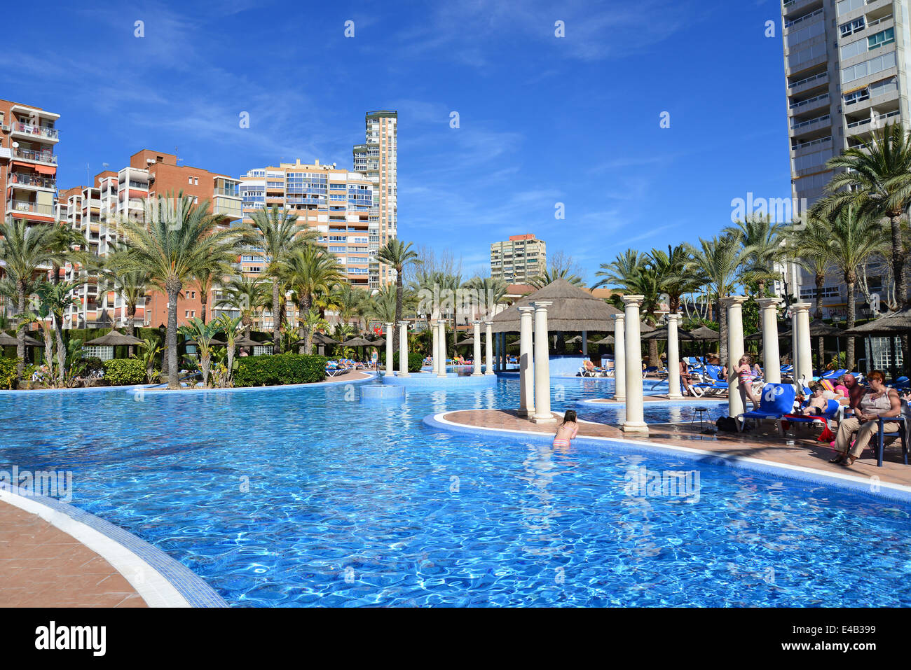 Swimming pool at sol pelicanos ocas hotel calle gerona - Hotels in madrid spain with swimming pool ...